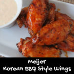 Meijer Korean BBQ Style Wings