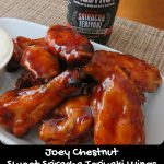 Joey Chestnut Sweet Sriracha Teriyaki Wings