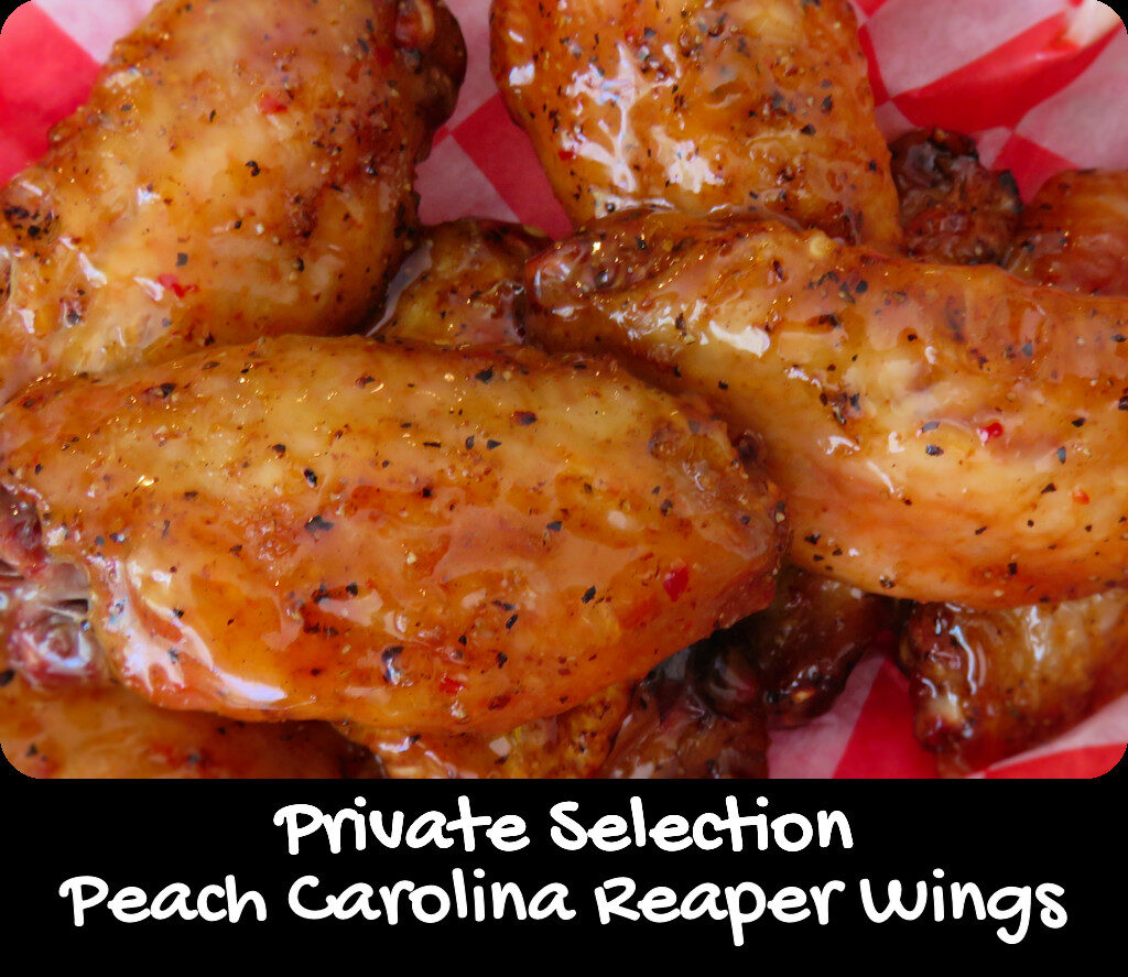 Private Selection Peach Carolina Reaper Wings