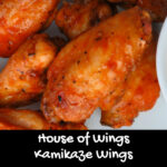House of Wings Kamikaze Wings